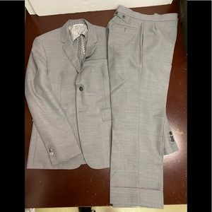 Thom Browne Fresco medium Grey suit Slim Medium